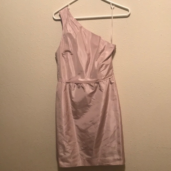 J. Crew Dresses & Skirts - One Shoulder J.Crew Dress!